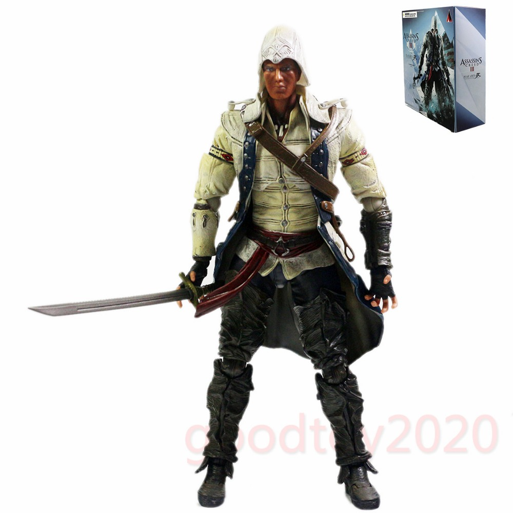 Assassin creed III Connor Oyna Sanatları Kai Action Figure Ücretsiz Nakliye