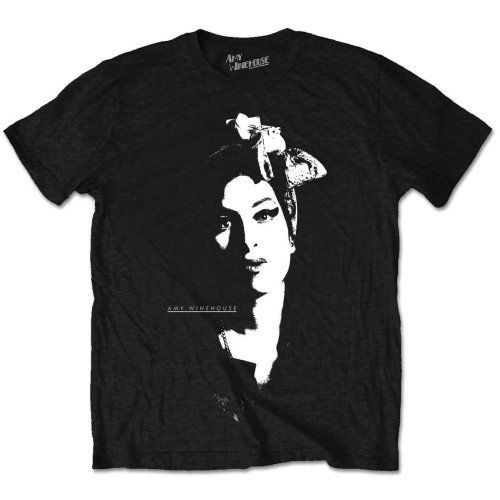 Amy Winehouse &39;Scarf Portrait&39; T-Shirt-YENI & RESMI!